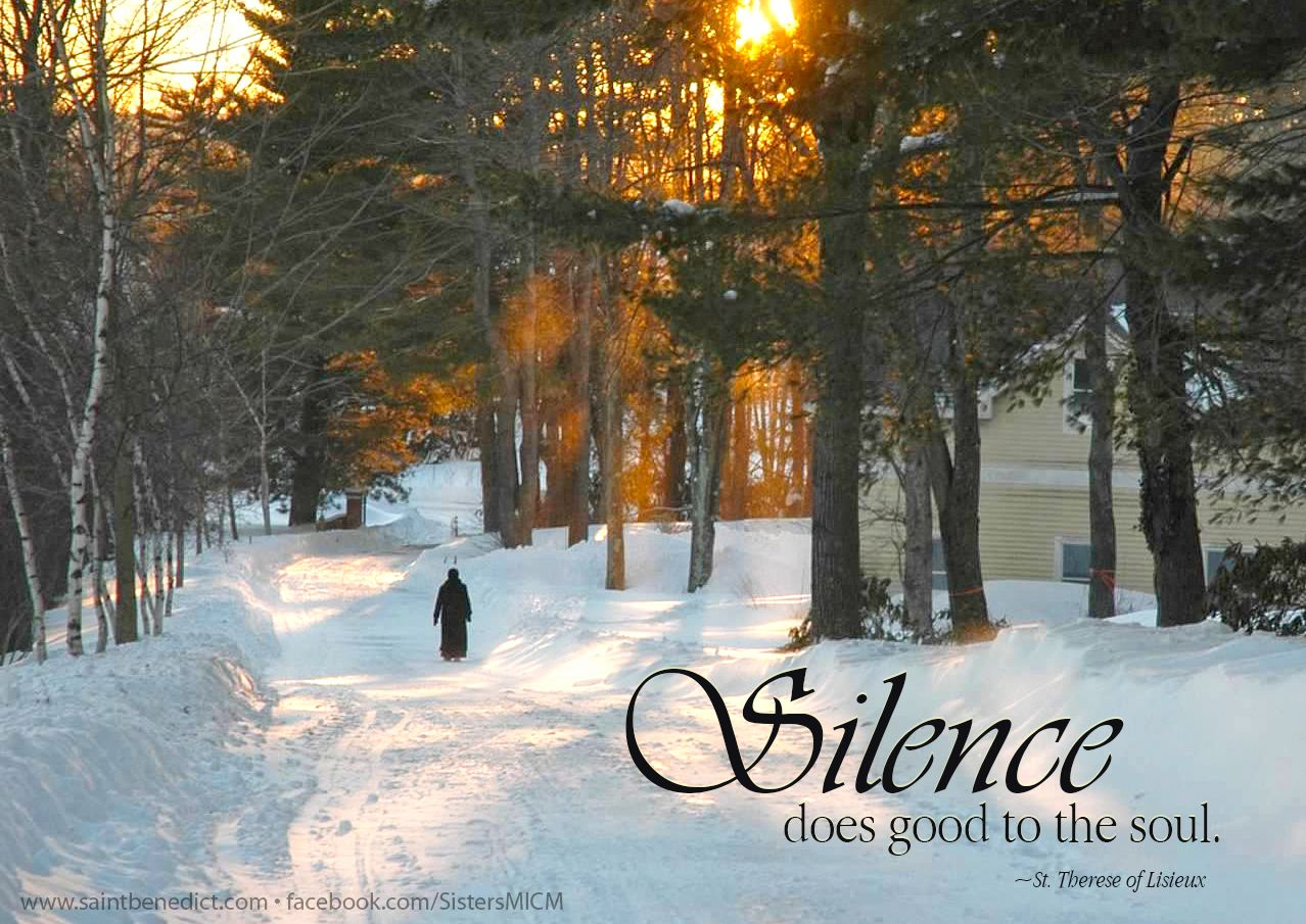 importance of silence in our life