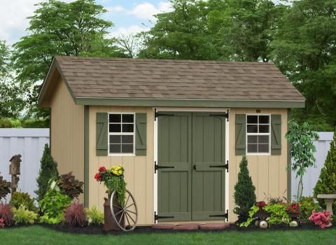 Classic Workshop Shed Photo Gallery Wooden Storage Sheds Shed Construction Shed Storage