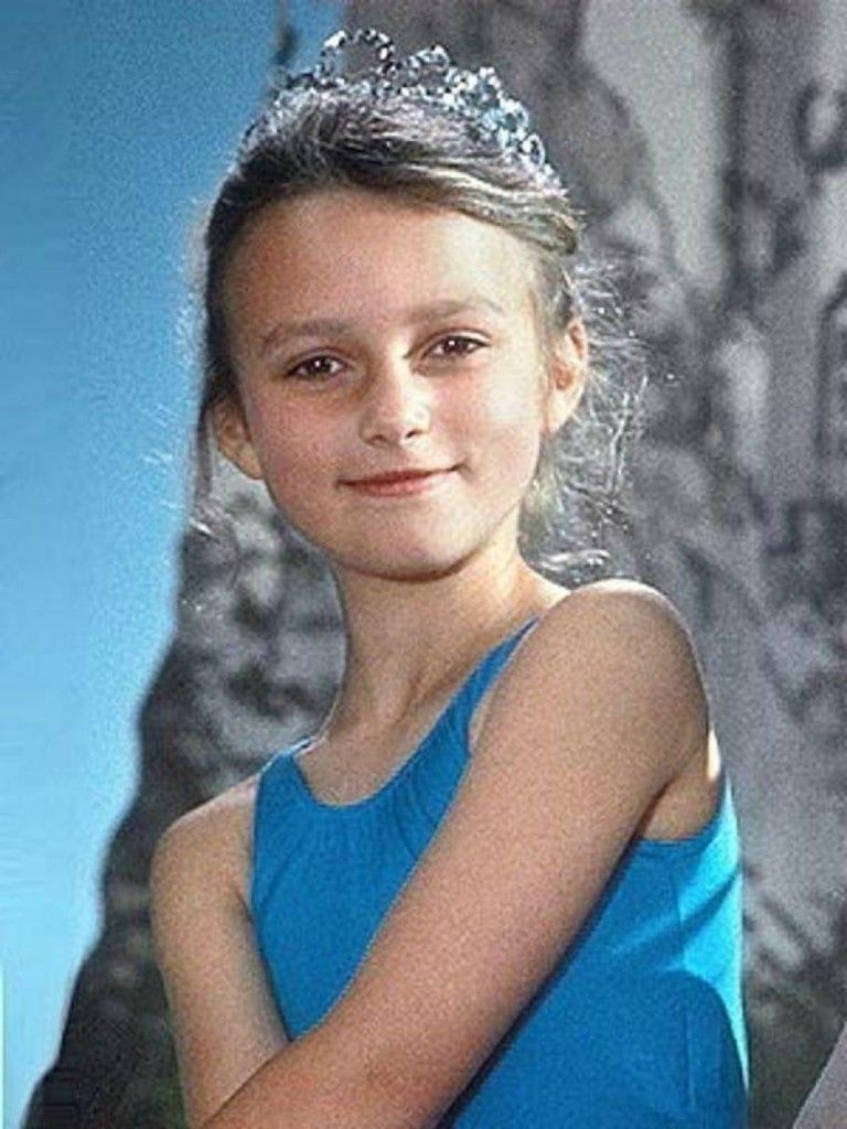 Keira Knightley as a kid   When they were young ...