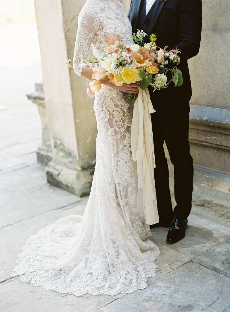 Taylor & Porter Photographs. Yellow & peach spring wedding ideas at ...