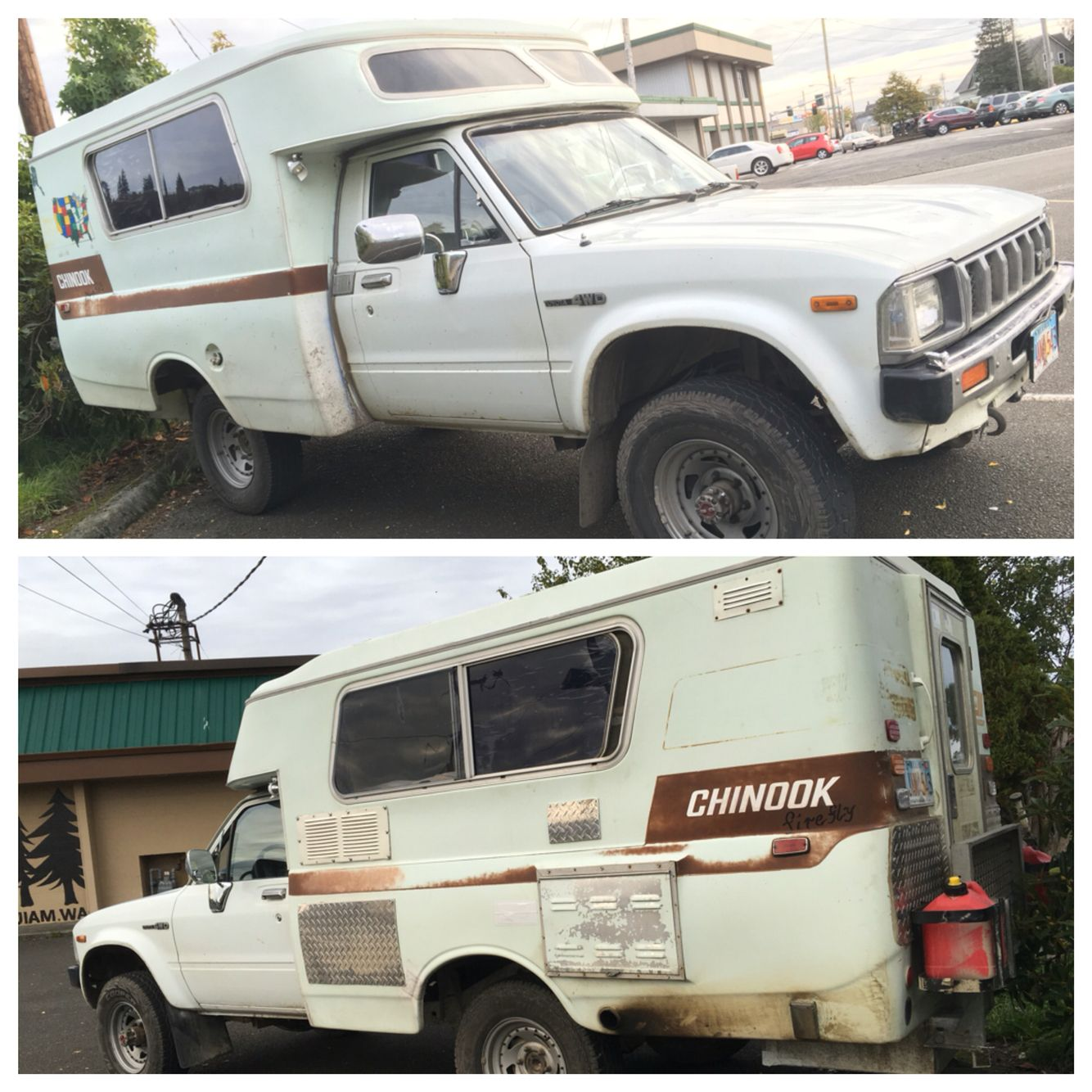 Used Toyota Campers For Sale: Toyota Chinook - 2wd & 4wd