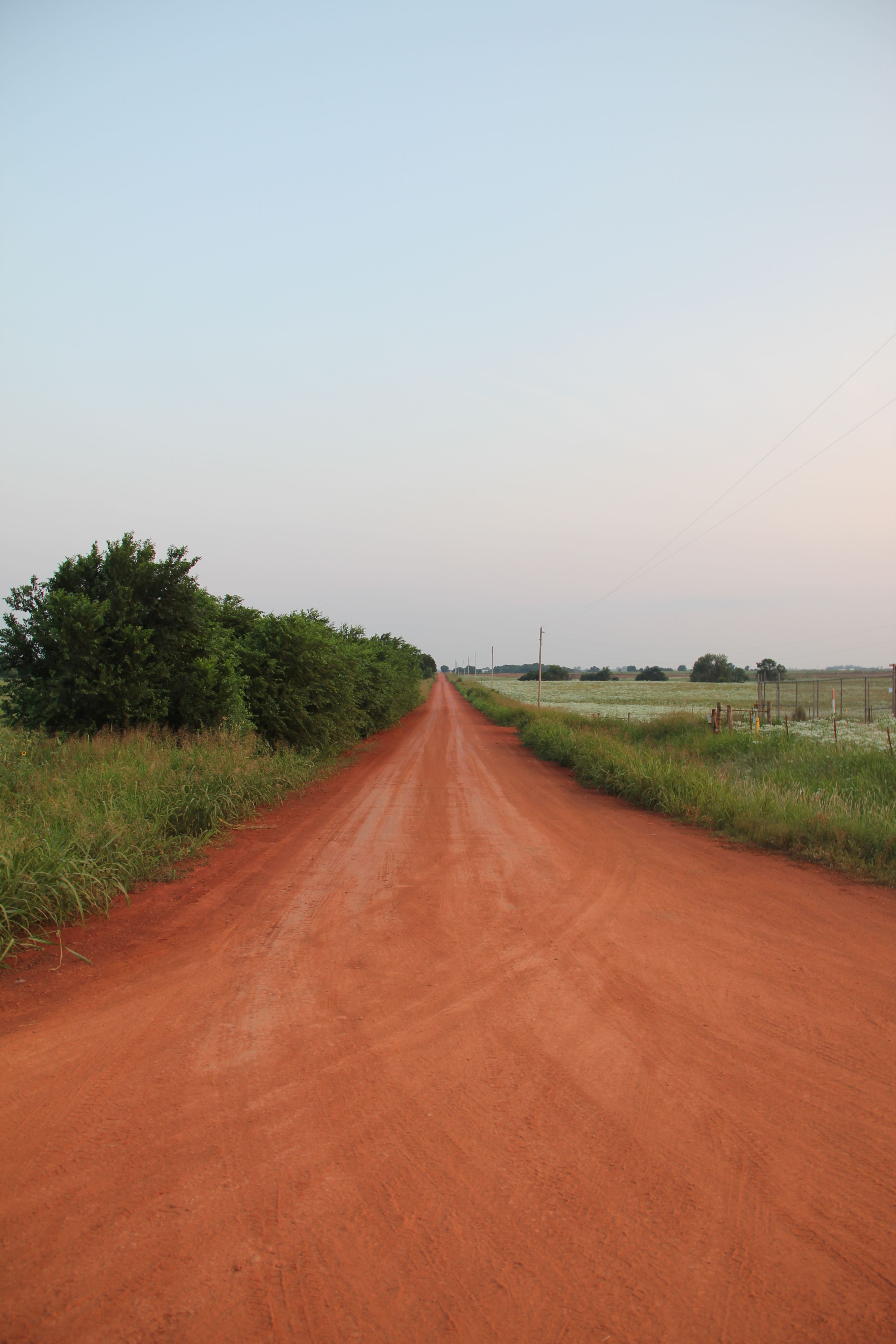 Oklahoma Red Dirt Road Red Dirt Road Dirt Road