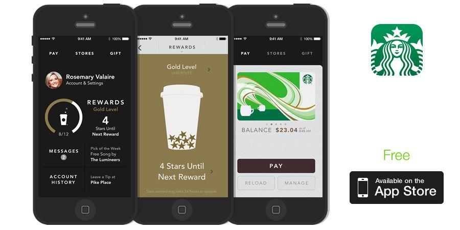 Starbucks (With images) Restaurant app, App, Starbucks
