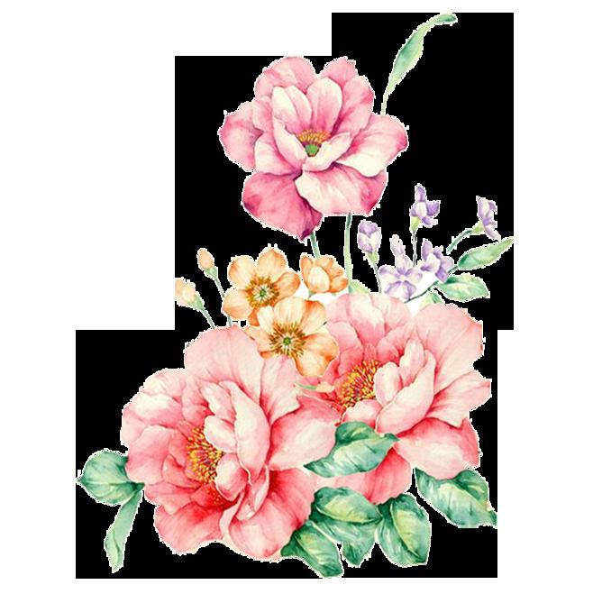 Букет цветы для фотошопа приглашения
