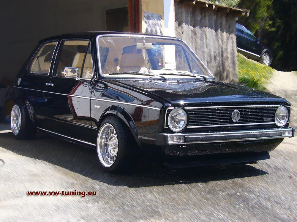 Vw Golf 1 Gti Volkswagen Golf Mk1 Schicke Autos Volkswagen