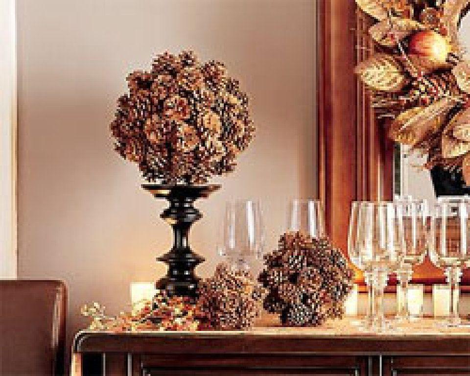 Adornos con pi as decorar tu casa es facil y adornos for Decoracion con pinas secas