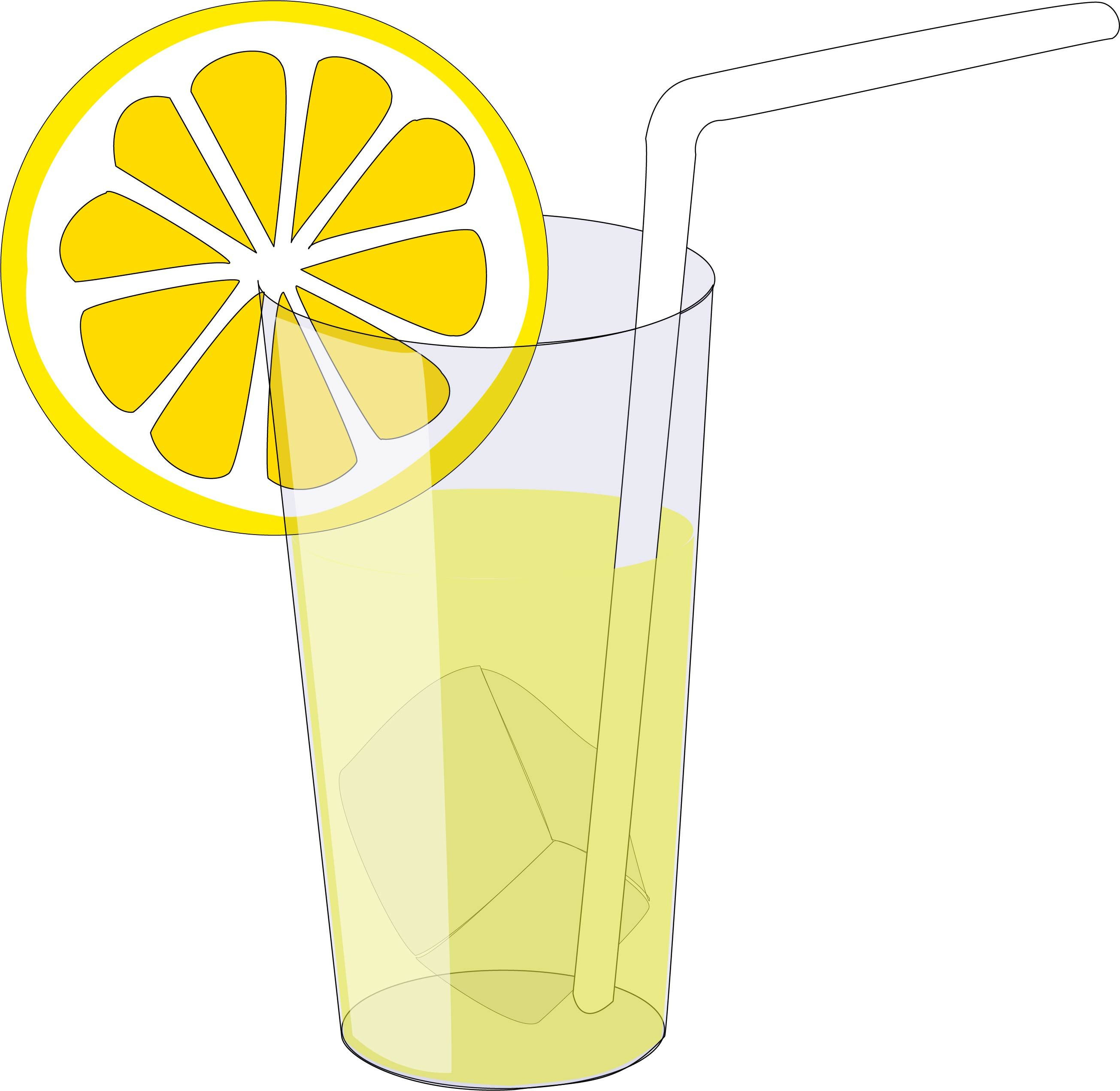 Ice and lemon slice svgglass full of lemonade svgbeverage