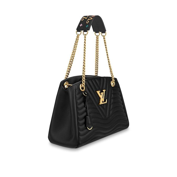View 2 - LV New Wave Leather HANDBAGS Shoulder Bags   Totes Louis Vuitton  New Wave Chain Tote  97accb21dab2a