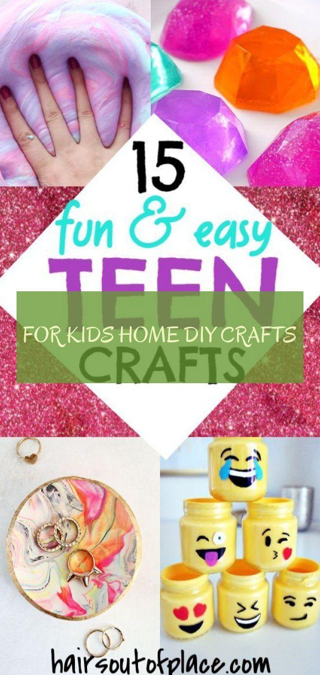 For Kids home diy crafts