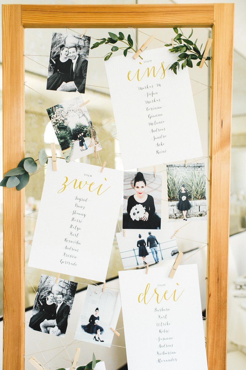 Sitzplan Hochzeit Ideen: 10 kreative Beispiele & Inspirationen ...
