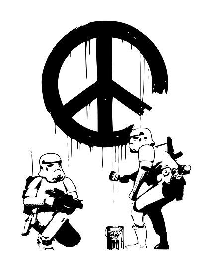 Banksy troopers by mcnasty redbubble tshirt