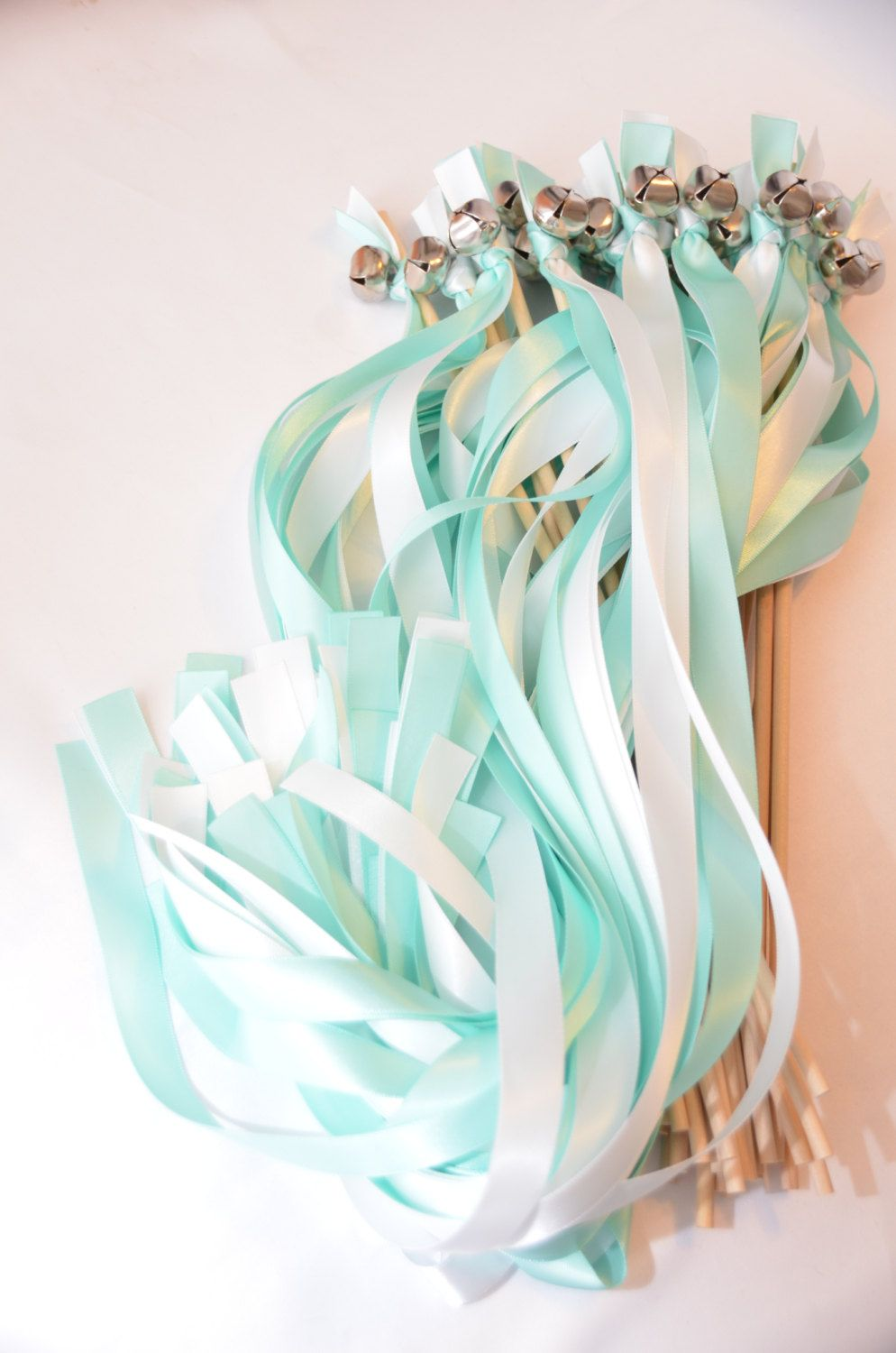 100 Wedding Ribbon Bell Send Off Choose your colors