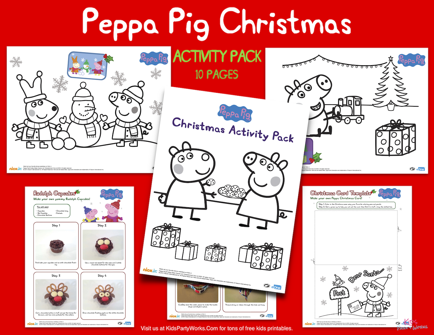 Free Peppa Pig Christmas Coloring Pages Kidspartyworks Com Christmas Coloring Pages Peppa Pig Christmas Free Christmas Coloring Pages [ 1159 x 1500 Pixel ]