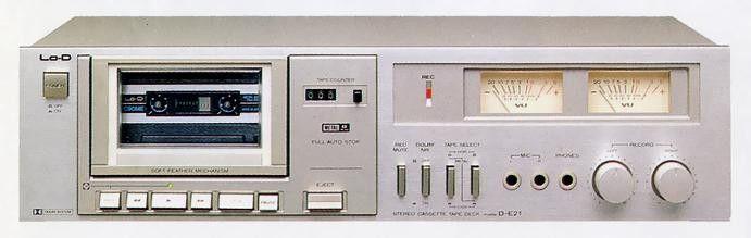LoD DE21 (1981) Audio system, Audio