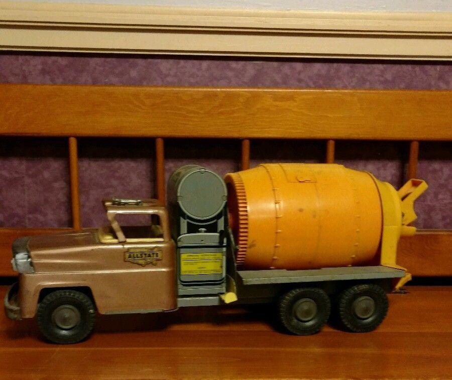 Sears Allstate Cement Mixer Truck #Marx | Vintage Toys | Pinterest ...