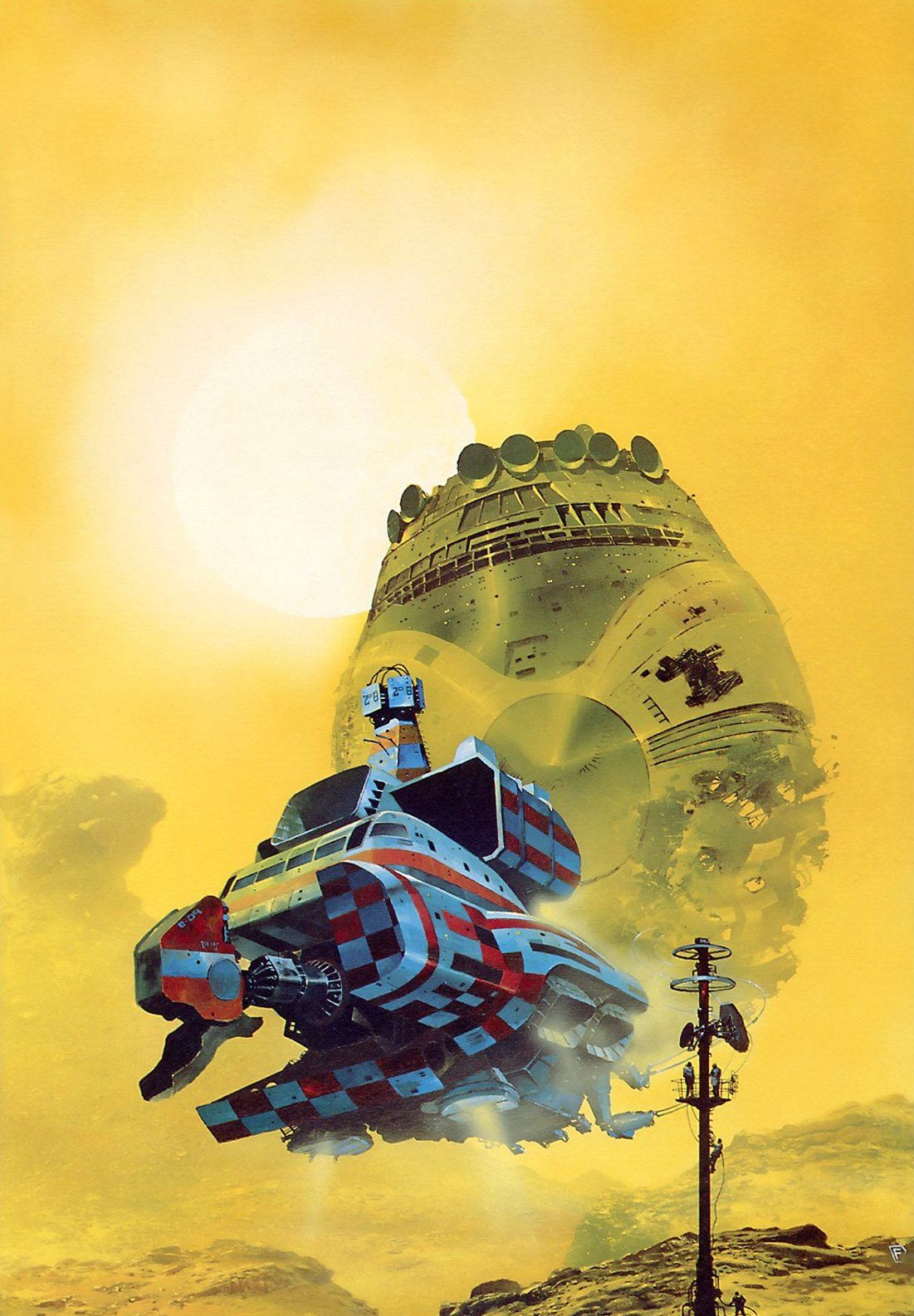 Arte Junior Science Chris Foss Sub Space Encounters Ancient In 2019 Science