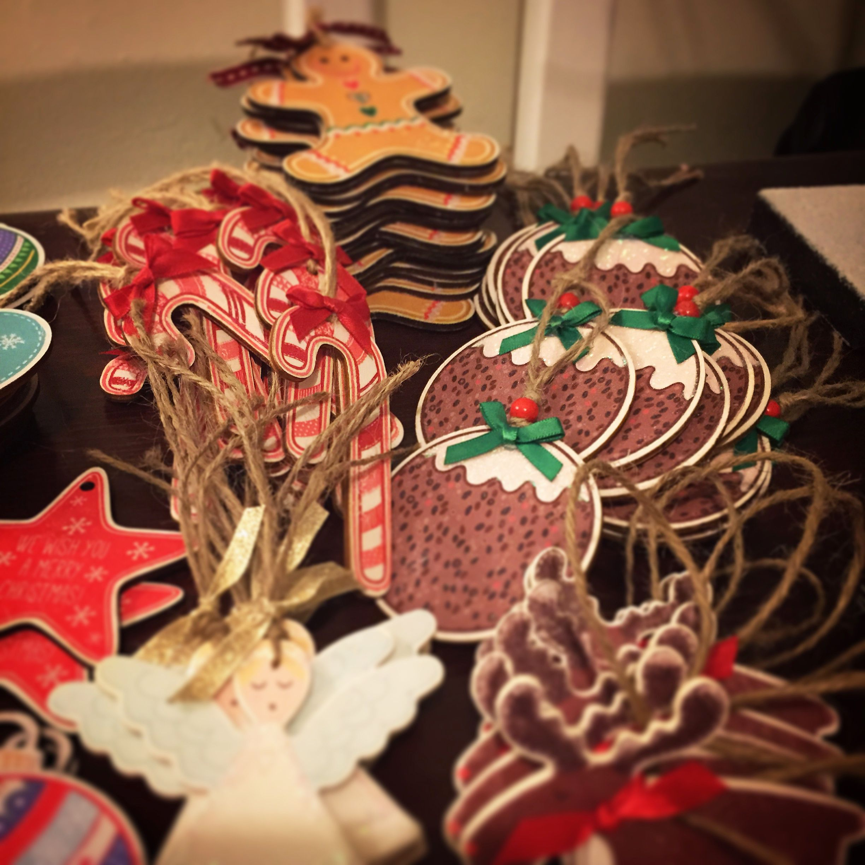 www.katyhalford.co.uk/shop | Christmas decorations to make ...
