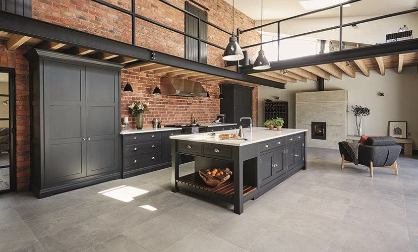 industrial style kitchen k che sch ne k chen und wohnen. Black Bedroom Furniture Sets. Home Design Ideas