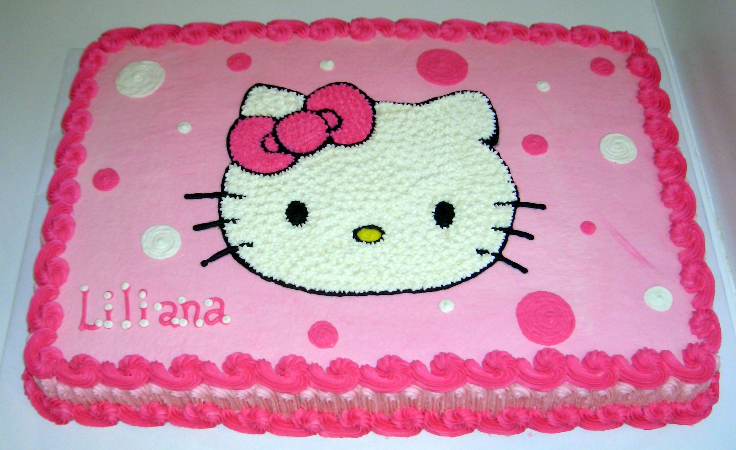 Hello Kitty Birthday Cake Cake Gallery Birthday Cakes