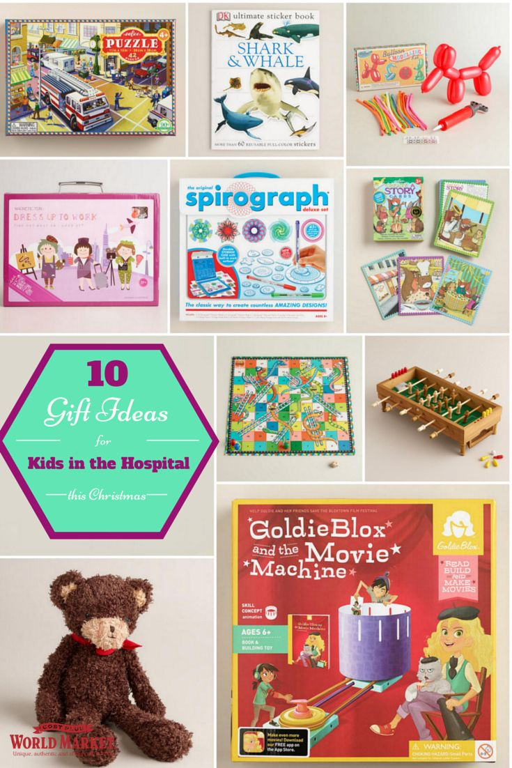 10 Gift Ideas for Kids in the hospital this Christmas | Giving, Ways ...