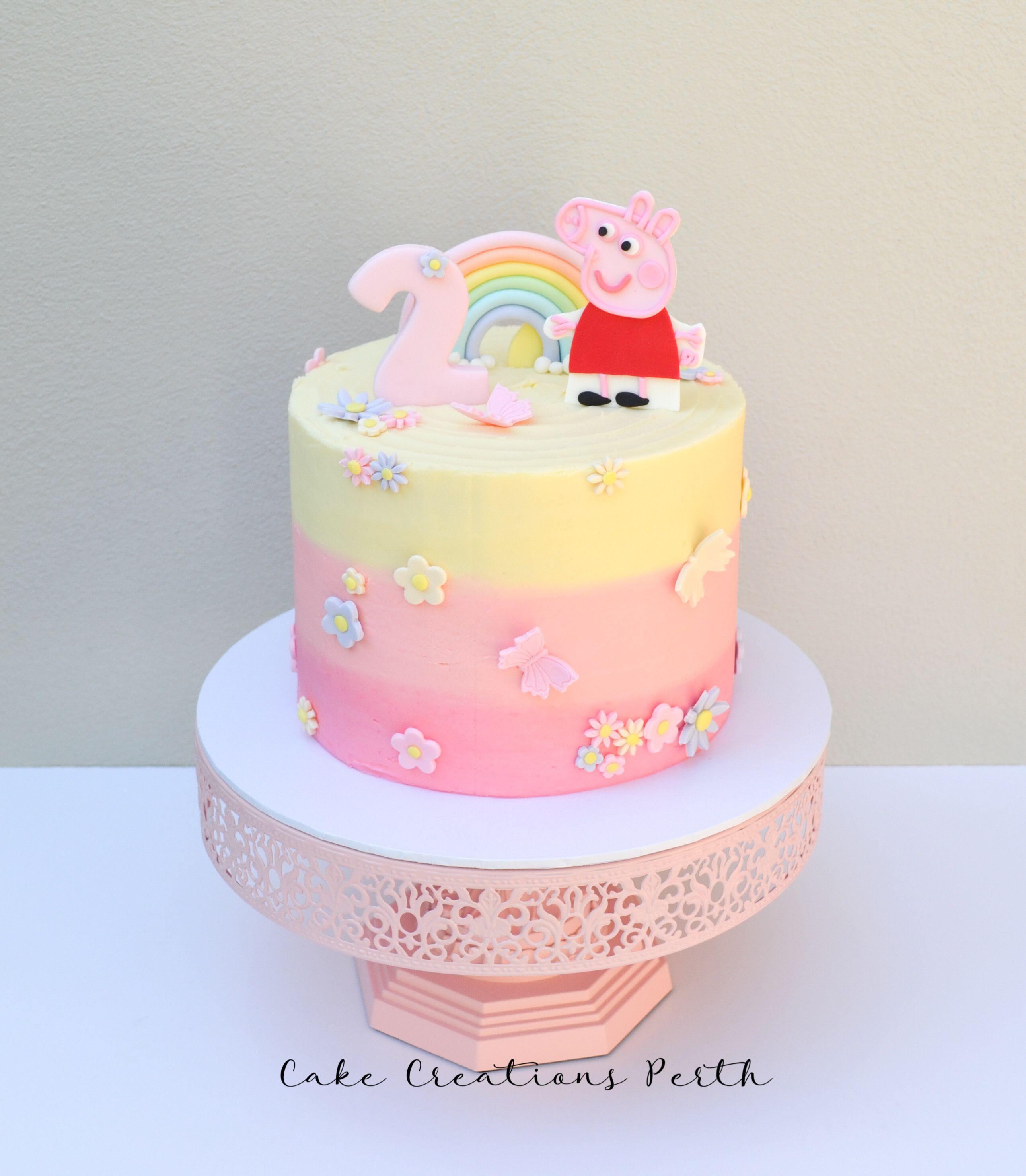Incredible Lilys Peppa Pig Cake Pig Birthday Cakes Peppa Pig Birthday Funny Birthday Cards Online Necthendildamsfinfo
