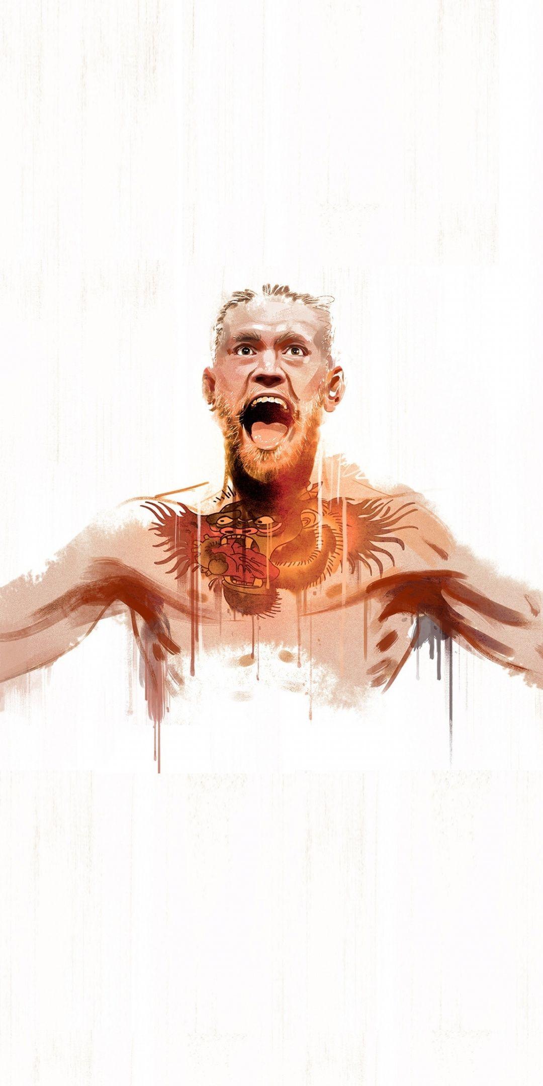 Celebrity, Conor McGregor, sports, art, 1080x2160