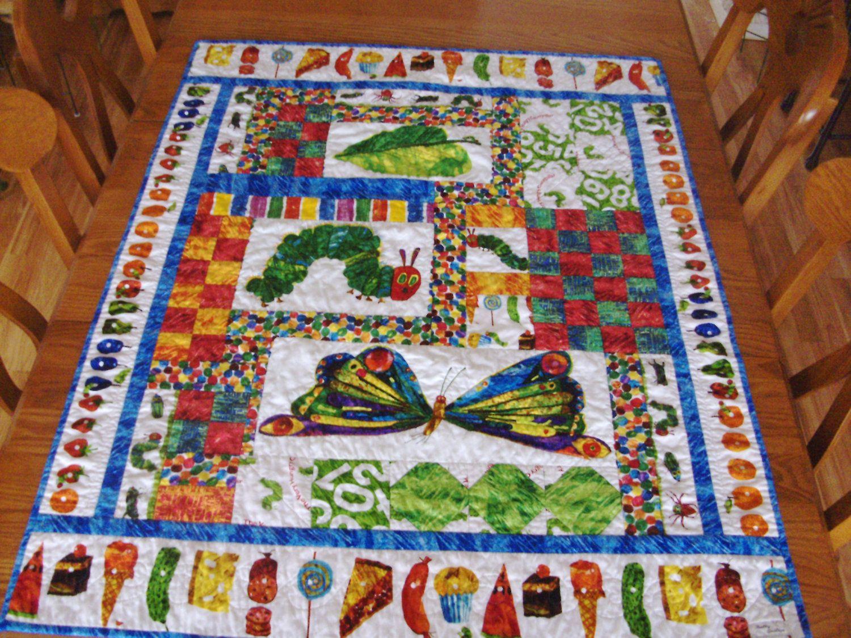 Very Hungry Caterpillar - Eric Carle - Crib Quilt | Google images ... : the hungry caterpillar quilt - Adamdwight.com