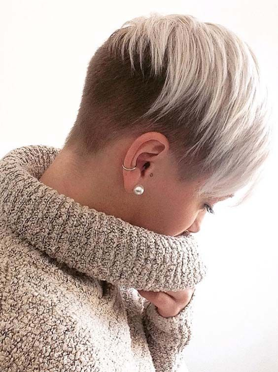 52 Trendy Undercut Short Pixie Hairstyles In 2018 Undercut Short