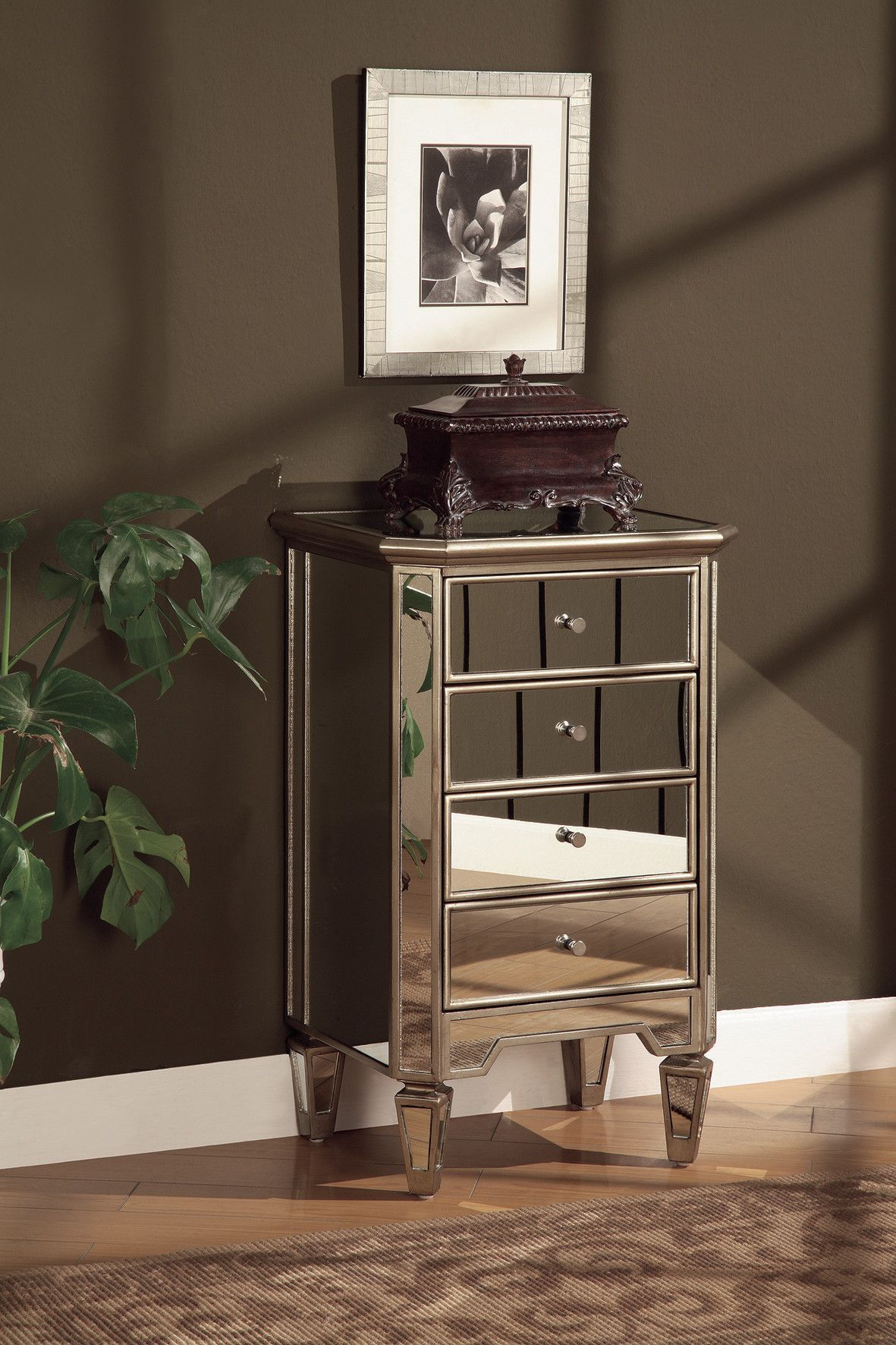 Karratha 3 Drawer Accent Chest Chest Of Drawers Wood