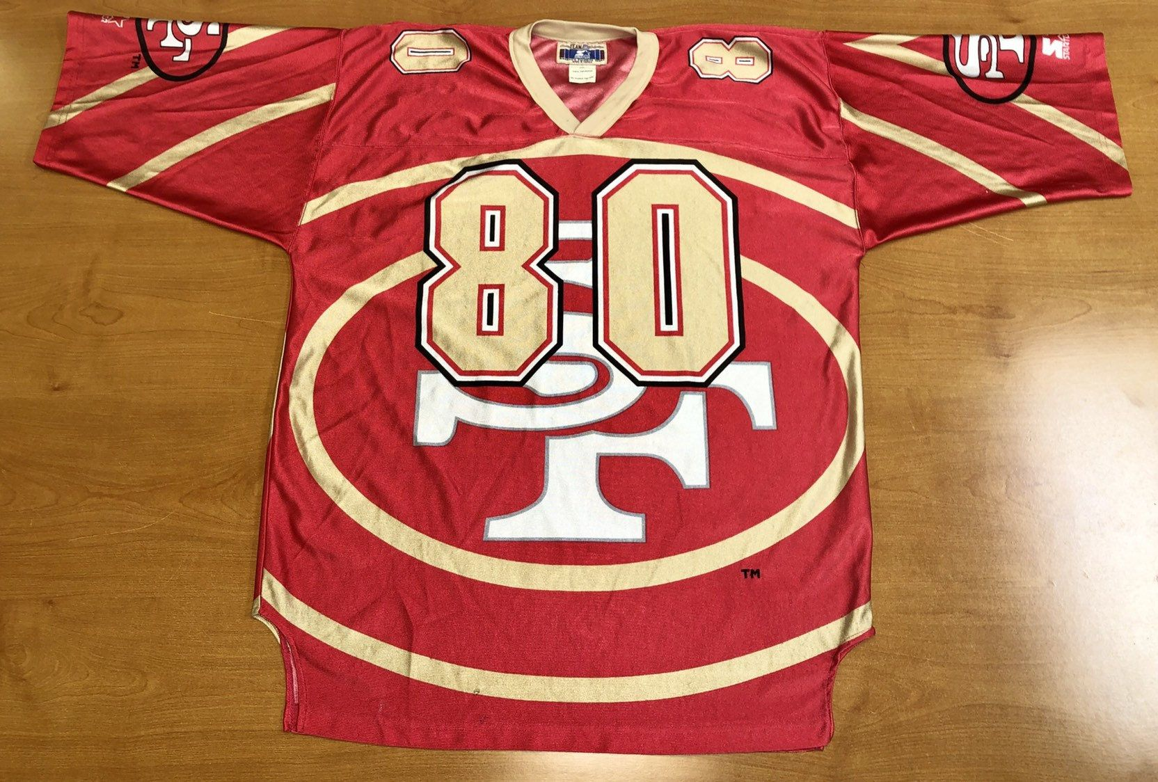 new arrival 7fa97 fbb8a Vintage 1996 Jerry Rice San Francisco 49ers Niners Starter ...