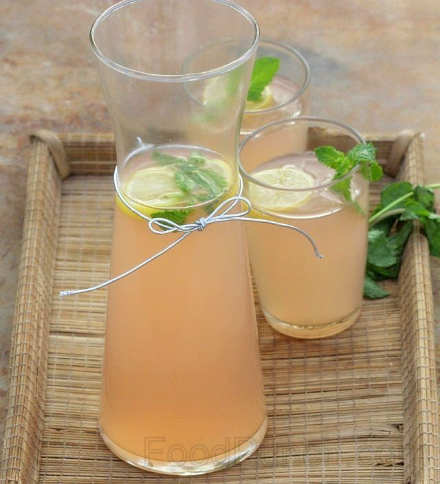 Non alcoholic drink recipes with ginger ale