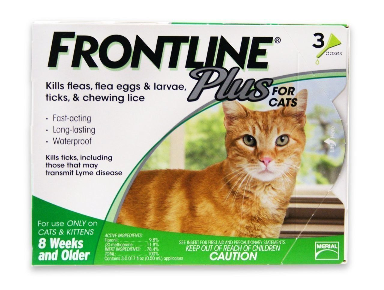 Frontline Plus for Cats and Kittens ** Click image for