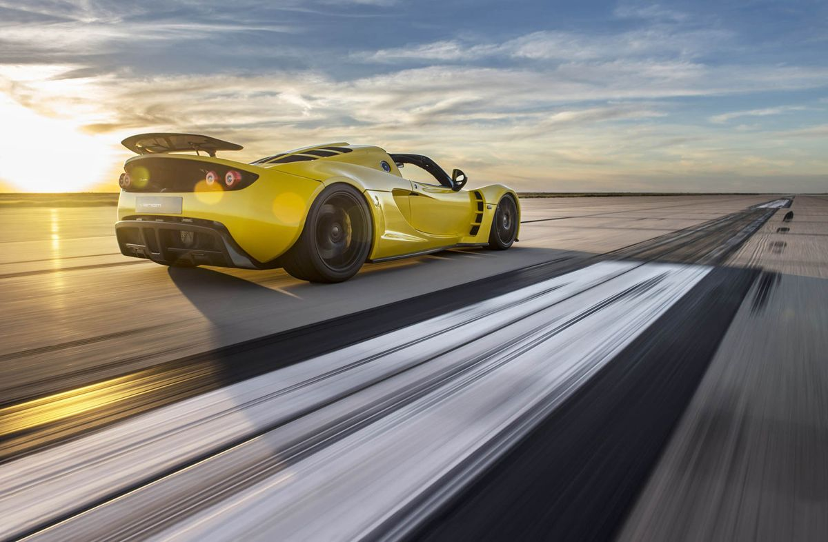 Hennessey Celebrates 25 Years And Sets A New World Record Hennessey Venom Gt Hennessey Cool Sports Cars 2014 venom gt world speed record by