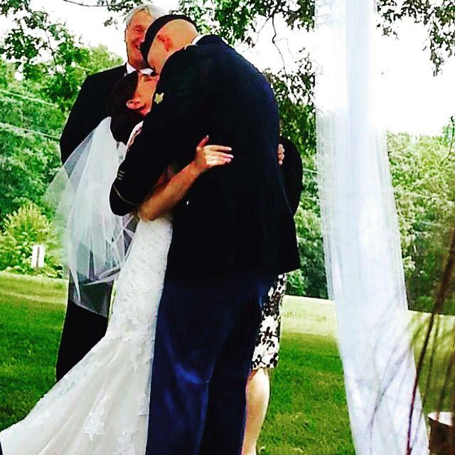Military wedding.