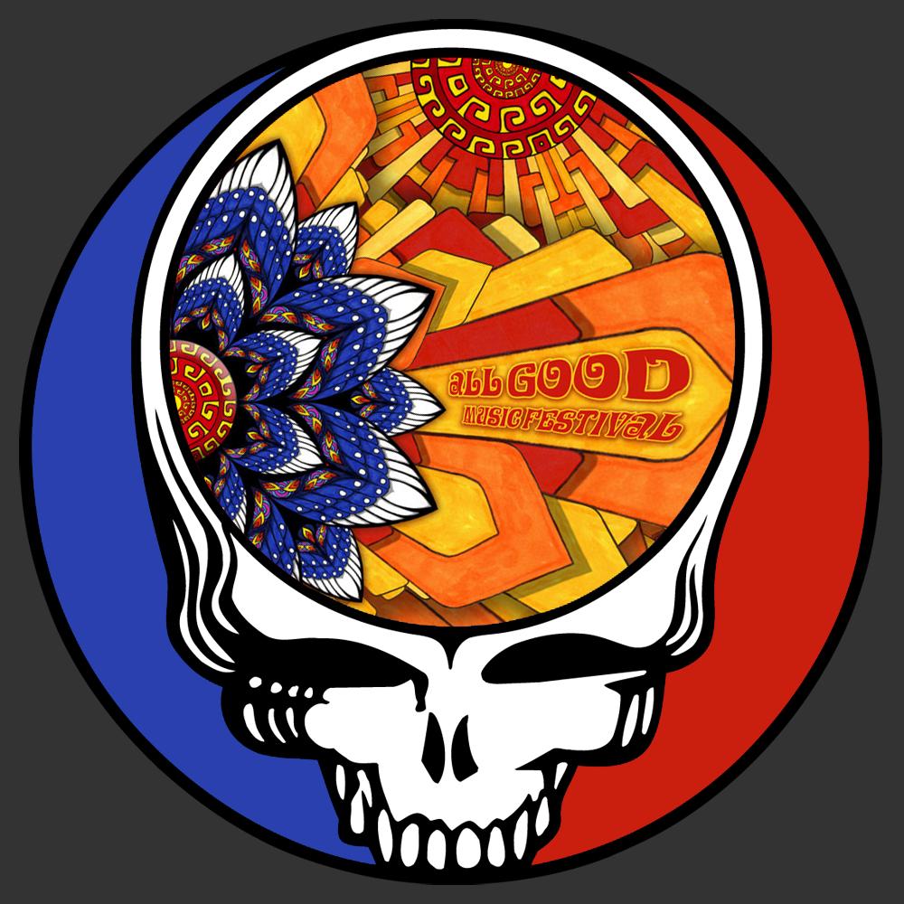 Steal Your Face All Good Festival Png 1000 1000 Grateful Dead Shows Grateful Dead Logo Greatful Dead