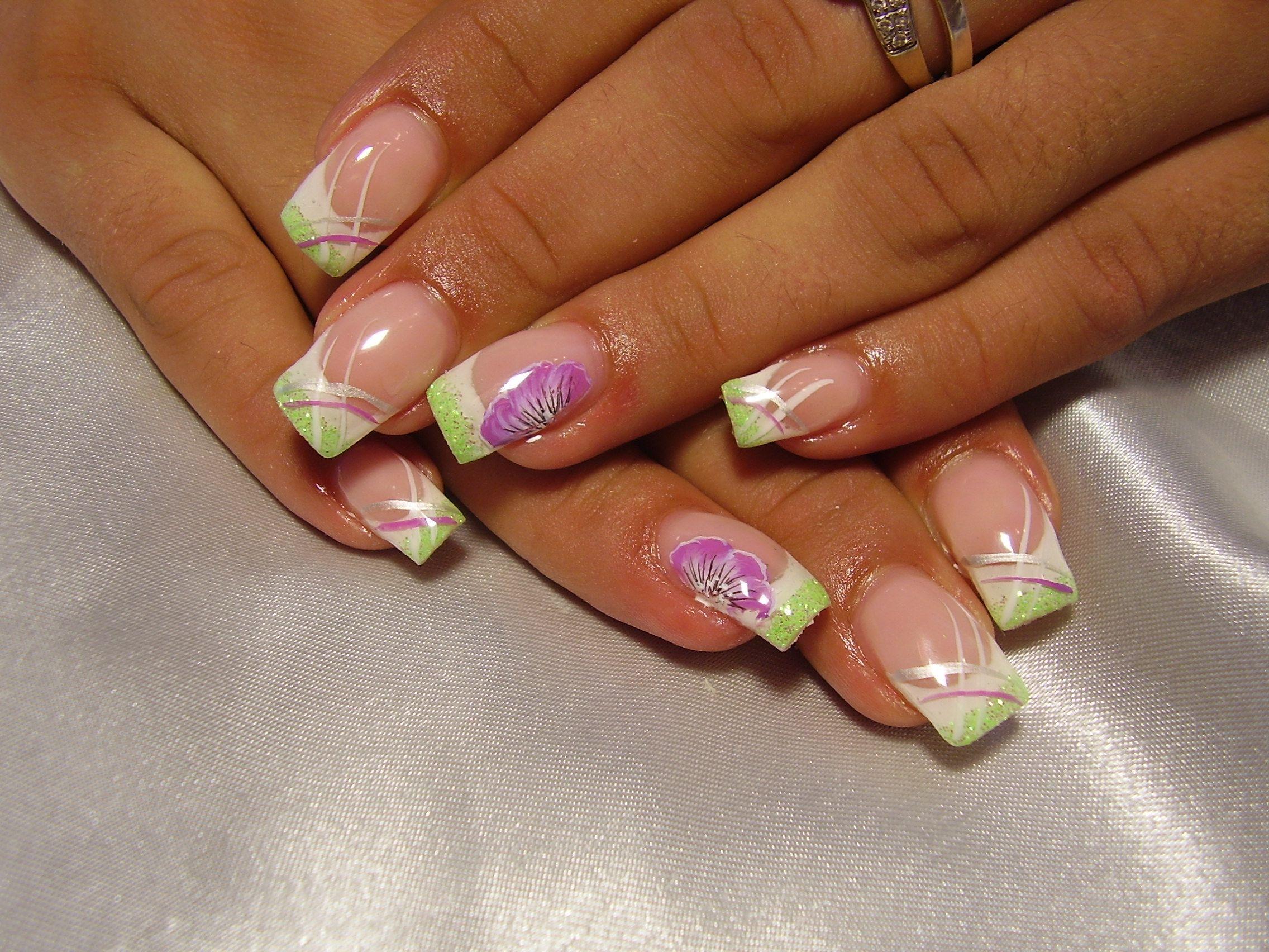 spring nails | My nails | Pinterest | Spring nails, Aqua nails and ...