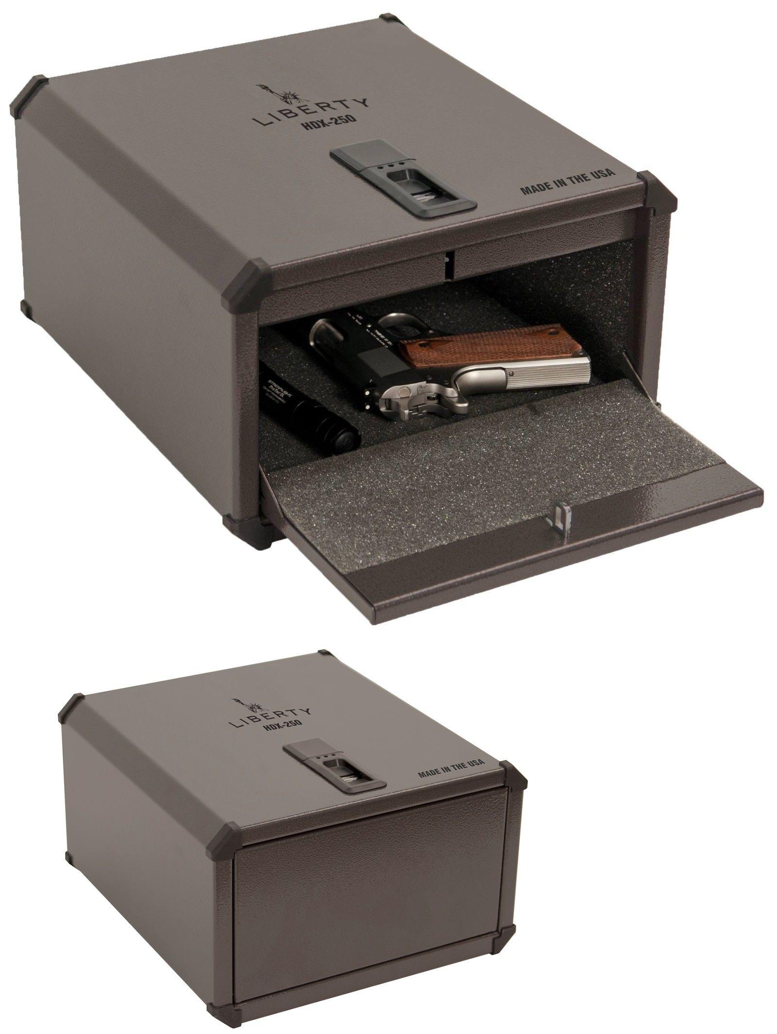 cabinets and safes liberty smartvault biometric handgun pistol safe fingerprint gun box hdx - Biometric Safe