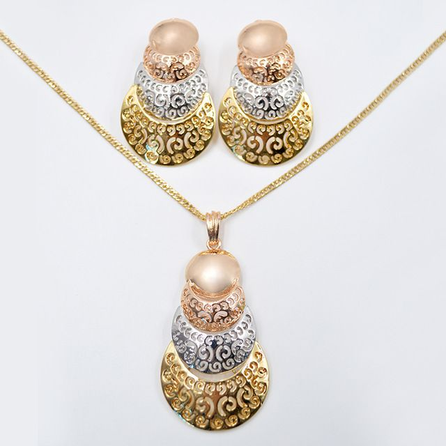 Sunny Jewelry Fashion Jewelry 2017 Women Necklace Earrings Pendant