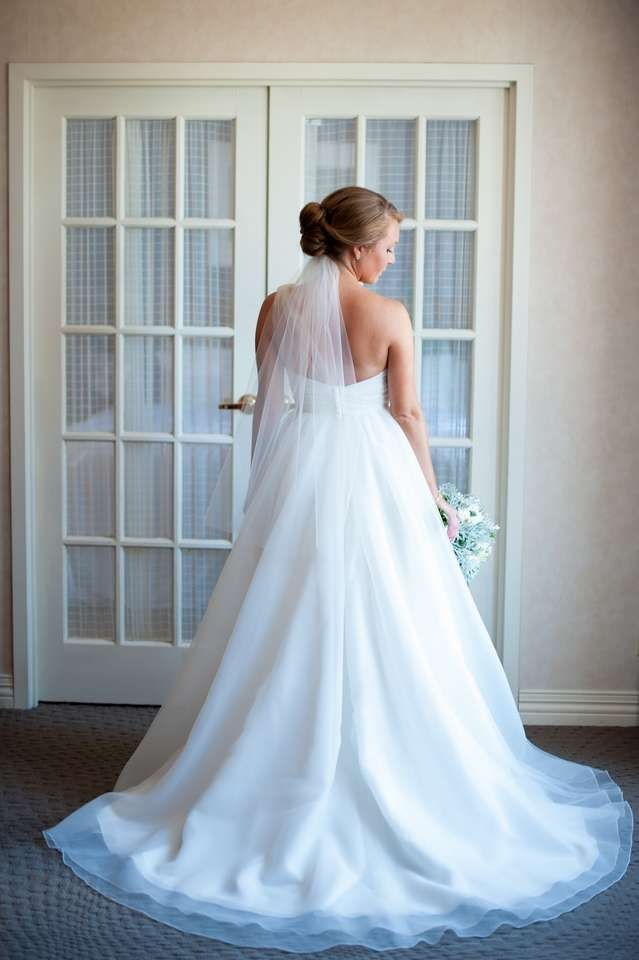 FOR SALE: Used 1-shoulder Wtoo by Watters Bria Style 19595 wedding ...