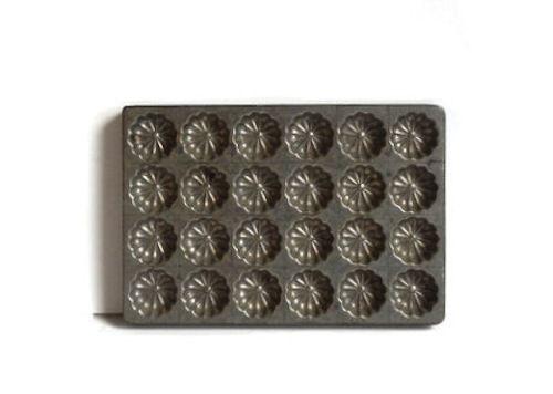 Antique Aluminum Chocolate Mold