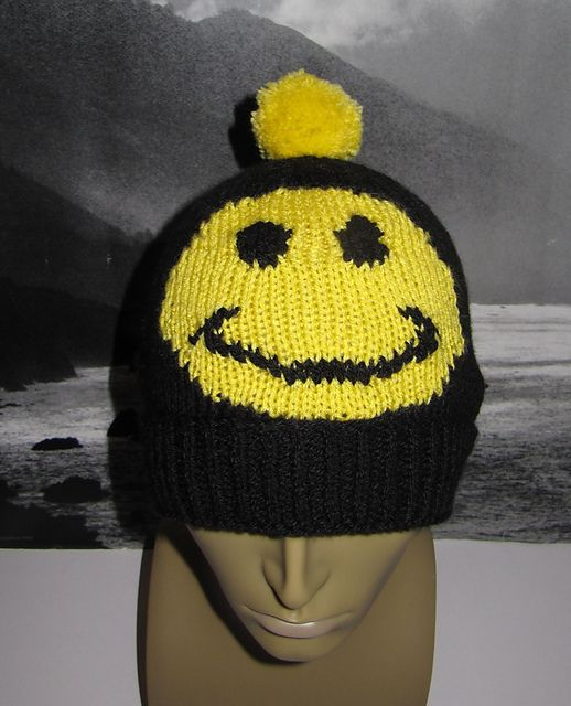 Ravelry: FREE Smiley Bobble Beanie pattern by Christine Grant ...