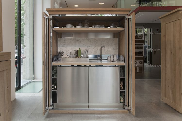 Credenza, designed by Michele De Lucchi, receives special mention - komplette küche gebraucht