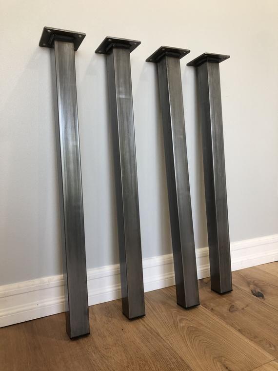 Metal table legs - Post Legs - Bench legs - Bar legs - Dinning table legs ( set of 4)#bar #bench #dinning #legs #metal #post #set #table
