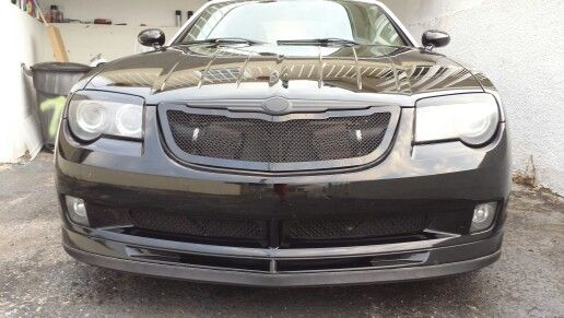 Blacked Out Front With Images Chrysler Crossfire