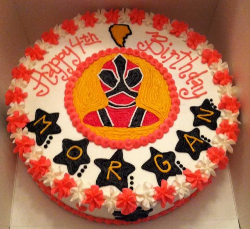 Sweet Treats By Susan Power Rangers Samurai Birthday Cake