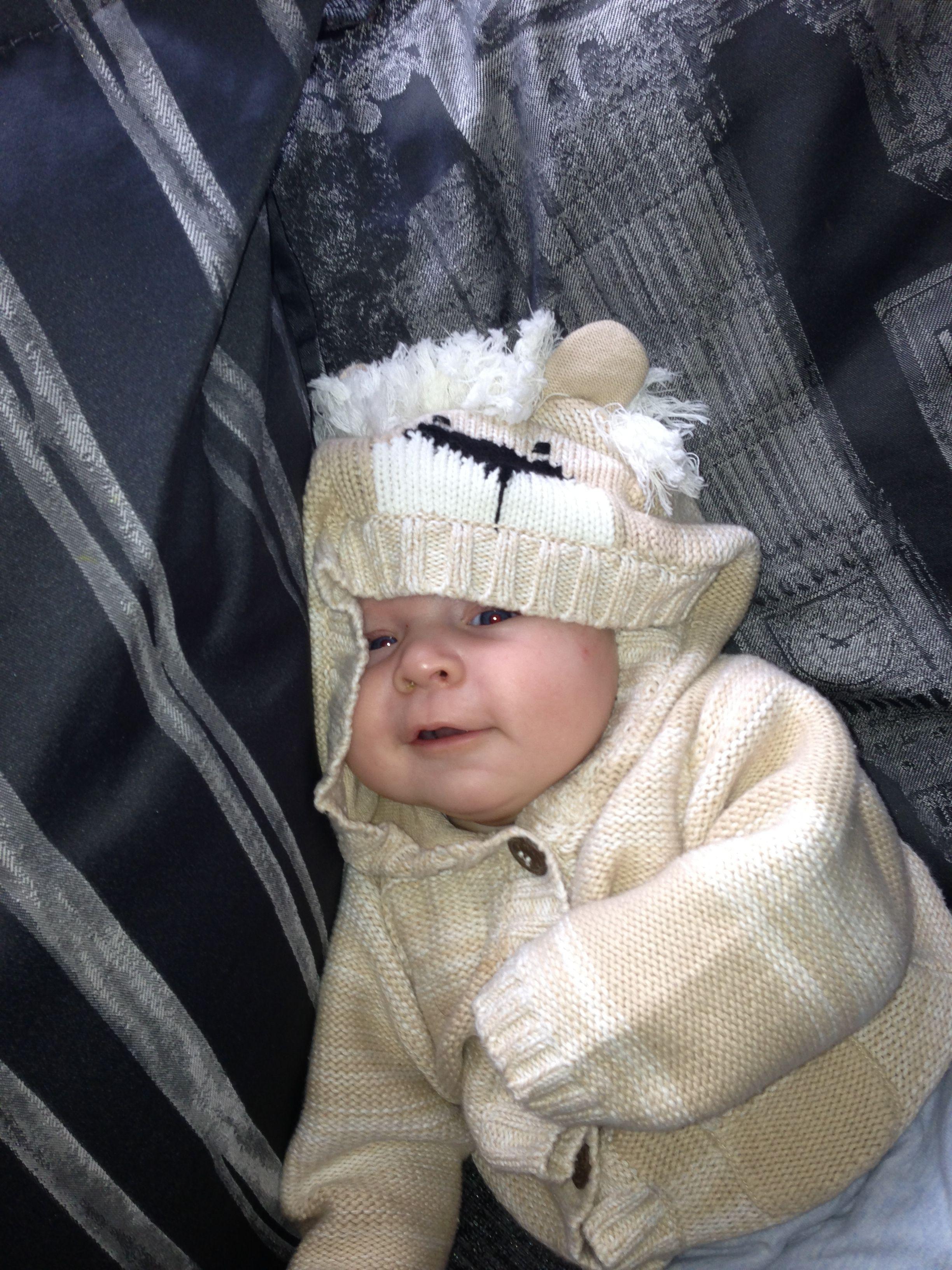 My lil baby boy jenson