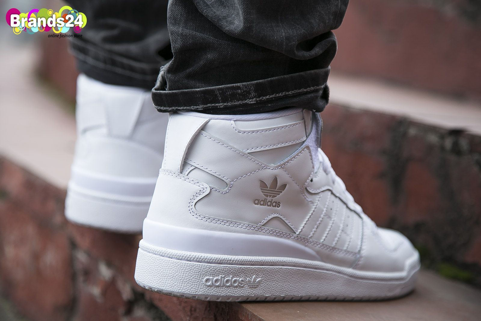 Adidas Originals FORUM MID Triple White