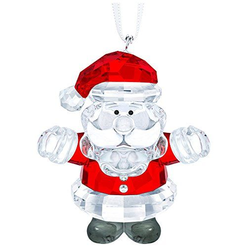 Swarovski Santa Claus Ornament | Christmas Ornaments | Pinterest