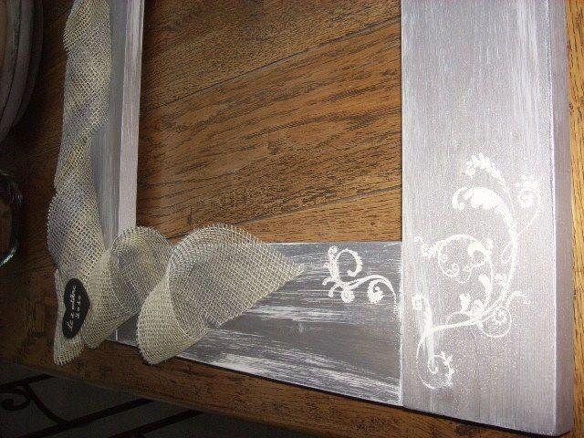 d coration de cadre pour mariage mariage pinterest cadres mariages et d corations. Black Bedroom Furniture Sets. Home Design Ideas