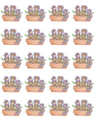 """1 Sheet of 20 Square Stickers"", Stock #: SS-187, from House-Mouse Designs®. This item was recently purchased off from our web site, www.house-mouse.com. Click on the image to see more information."